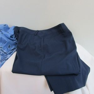 Vintage Dress Pants 10P Soft And Comfortable Navy